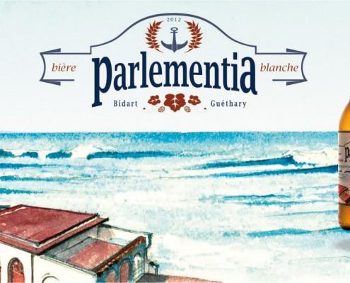 Poster Bière Parlementia