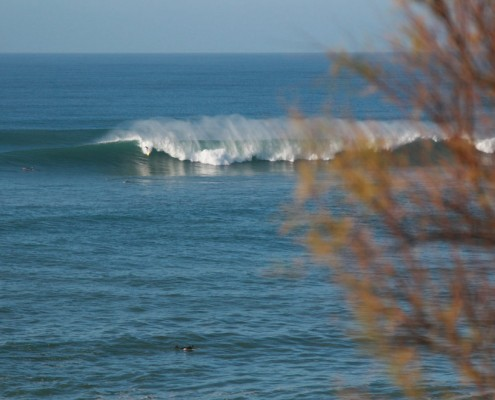 big wave surfing basc country
