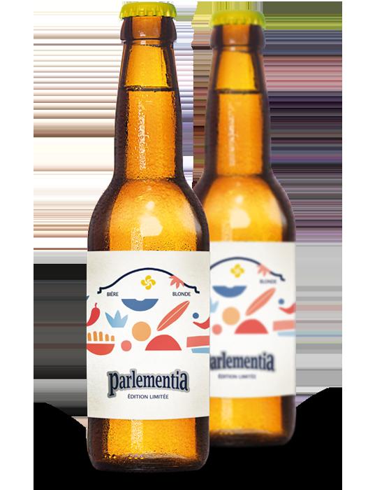 bière blonde Bidart Guethary Parlementia
